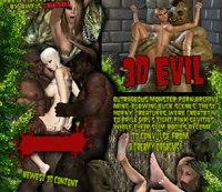 3d evil pictures